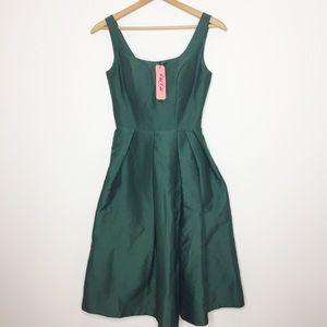 NWT Chi Chi London emerald green cocktail dress 4